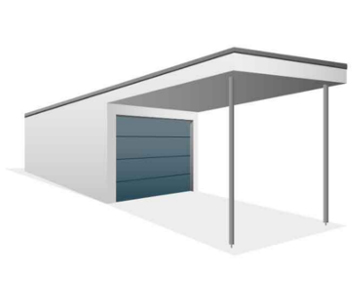 Carportposition vorn