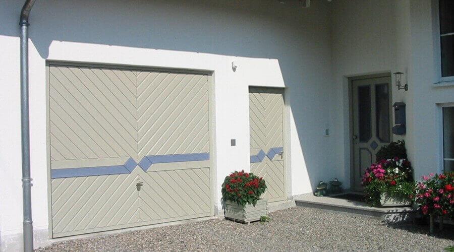 sektionaltore f r garagen kaufen ott garagen. Black Bedroom Furniture Sets. Home Design Ideas